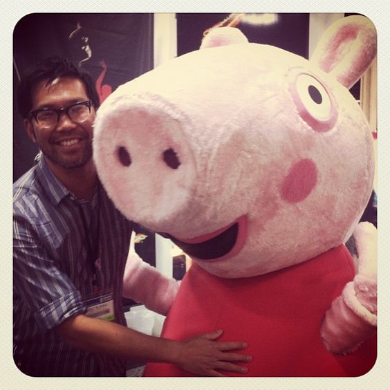 Peppa Pig and Me with Eric Huang ‏@dinoboy89 - Love it!!