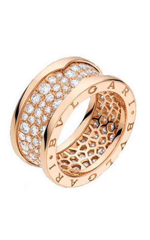 Bvlgari Fashion rings have always been the best in their class. Bvlgari AN855553 is no exception.