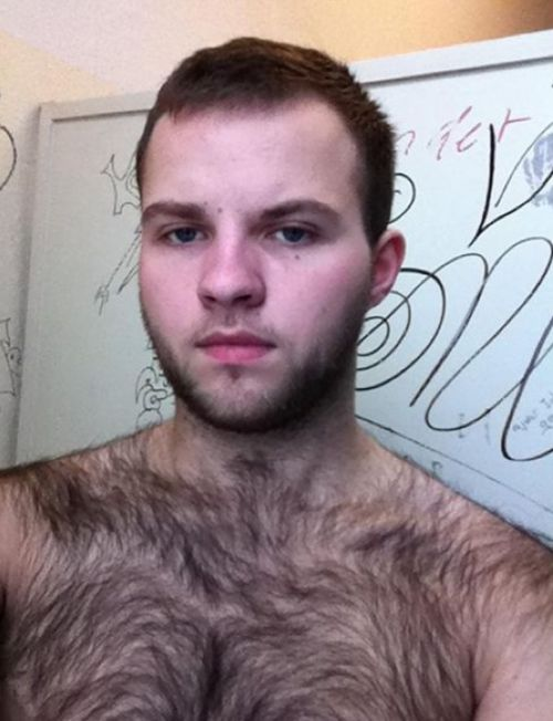 hairy young guys