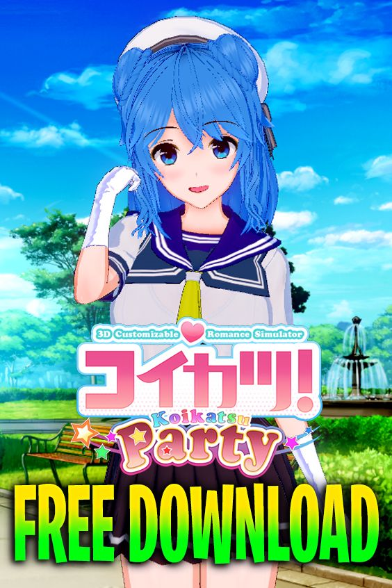 Free Download Koikatsu Party Free Download Anime Games Online Free Games