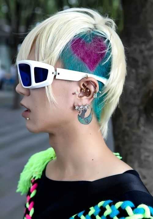 Wondrous Hairstyles Pictures Punk And Hairstyles On Pinterest Short Hairstyles Gunalazisus