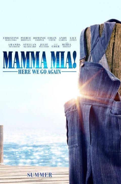 Estreno De La Película Mamma Mia Una Y Otra Vez Mamma Mia Poster De Peliculas Ver Peliculas Gratis