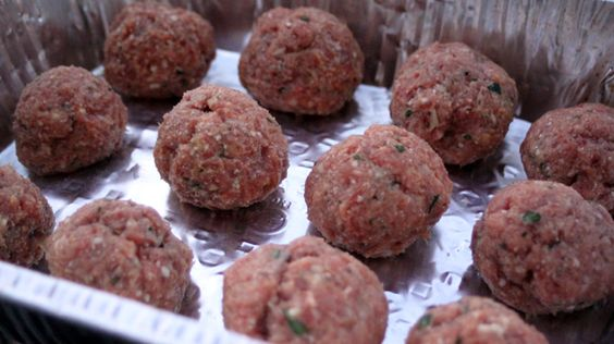 Meatballs Three Ways: Meatball Base  By Rachael Ray