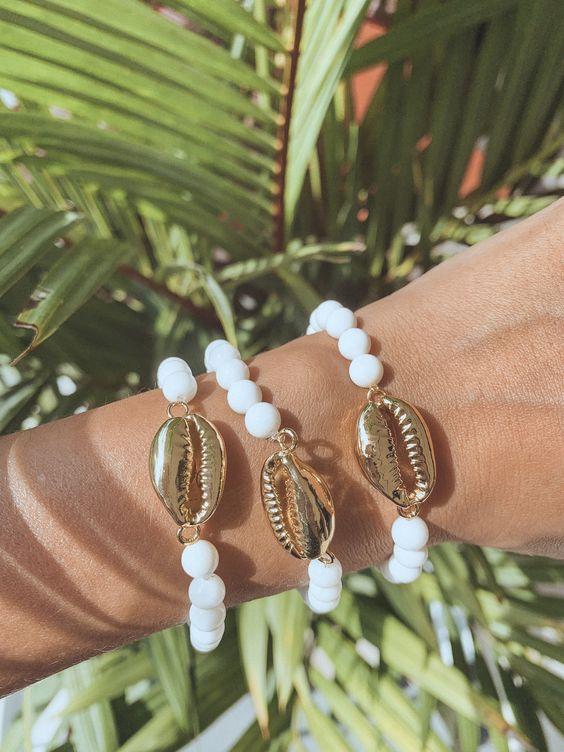 Kai Cowrie Shell Bracelet