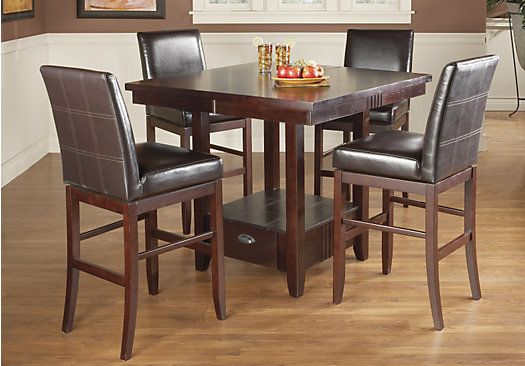 Shop For A Marsden 5 Pc Pedestal Diningroom At Rooms To Gofind New Rooms To Go Dining Room Set Inspiration Design