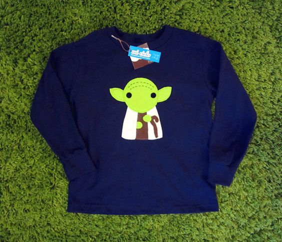 Sewing Wars  Baby Youda Toddler Long Sleeve by micielomicielo, $28.50