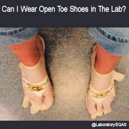 Can I Wear Open Toe Shoes in The Lab?