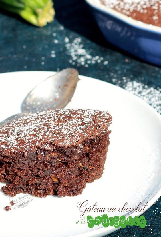 gateau chocolat courgette Une vrai tuerie !!!