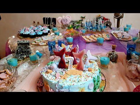 تحضيرات عيد الميلاد بنتي طورطة على شكل حورية البحر و أفكار بسيطة و مبتكرة للبوفي Mermaid Birthday Youtube Mermaid Birthday Birthday Cake Birthday