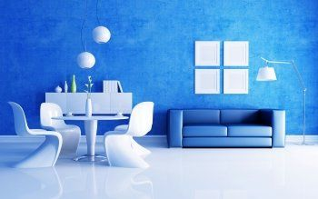 Breathtaking Interior Wallpaper Hd Most 145 Hd Wallpapers Backgrounds Abyss Blue Living Room Interior House Colors Interior Design Color Schemes