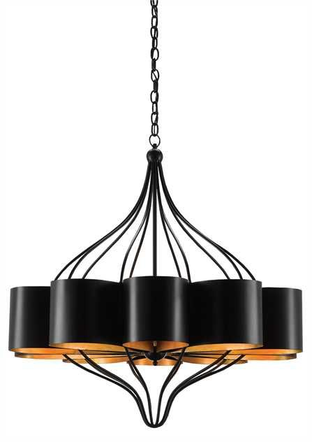 Click Here To View Larger Image Drum Shade Chandelier