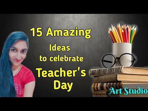 Teachers Day Celebration Ideas How To Celebrate Teachers Day Virtually Online In Lockdown 5september Youtube In 2020 Teachers Day Celebration Teachers Day Teacher