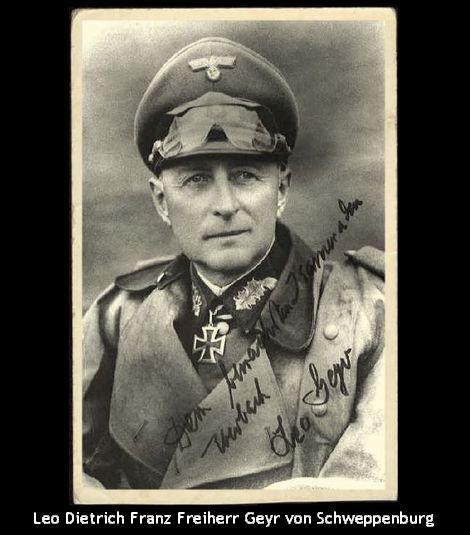 Leo Dietrich Franz Freiherr Geyr von Schweppenburg