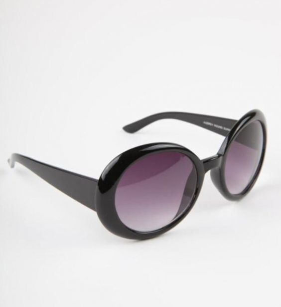 Ladies Black Round Sunglasses | Chici Fashion Jewellery