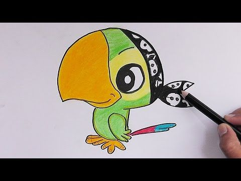 Jake's Parrot Art Attack Videos UK - YouTube