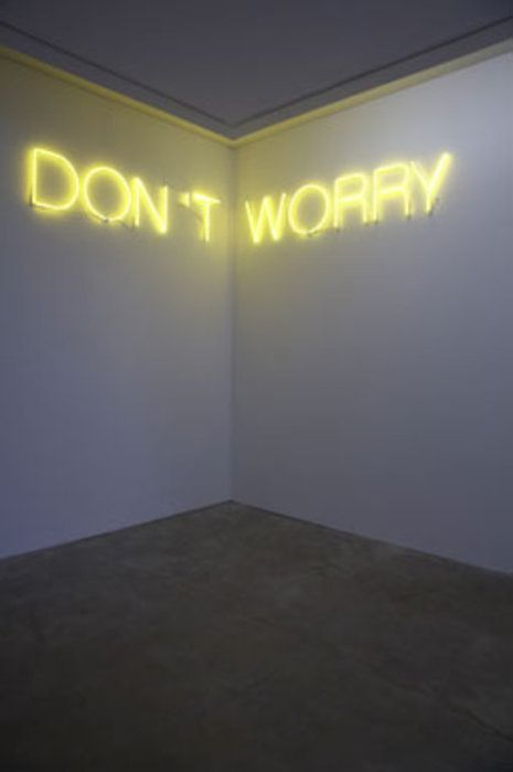 Neon neon light signs and don 39 t worry on pinterest for Neon signs for bedroom