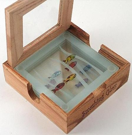 Smashing glass coasters all smashing glass coasters and servers are individually crafted in - Smashing glass coasters ...