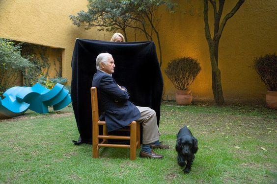 Carlos Fuentes por Daniel Mordzinski