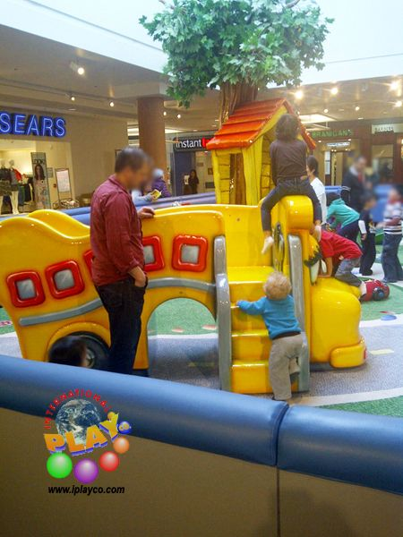 Indoor playground play structures and shopping center on for Indoor play structure prices