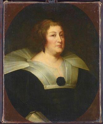 Maria de' Medici (1575-1642) By Anton van Dyck