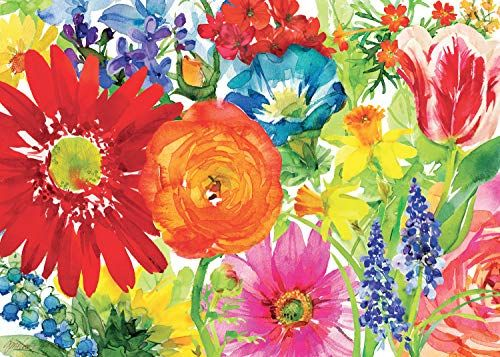 Ravensburger Abundant Blooms 1000 Piece Jigsaw Puzzle For Https