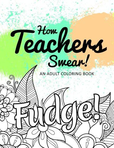 Funny teacher coloring book