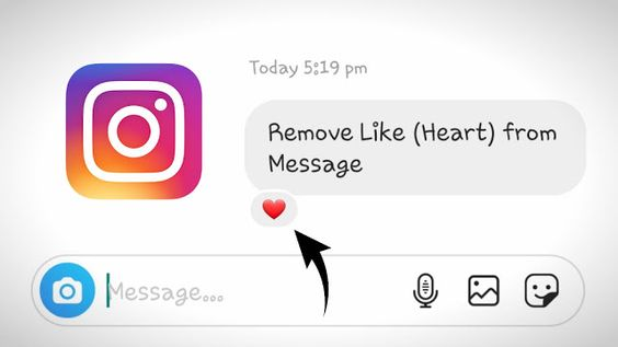 How To Remove Like From A Message On Instagram Messages Instagram Message How To Remove