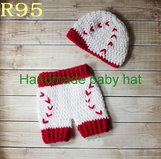 free crochet red socks baseball hat pattern Free ...