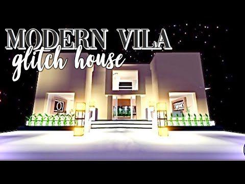 Modern Villa Glitch House Tour Adopt Me Roblox Youtube Futuristic Home House Tours House