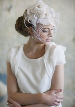 pretty white hat - ladies fashion style