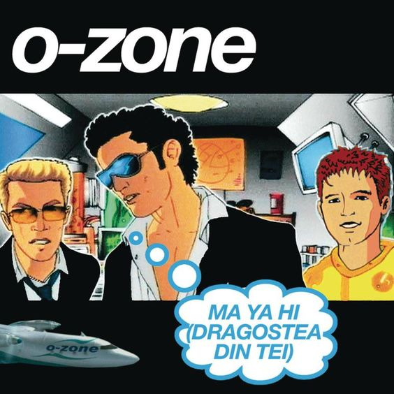 O-Zone – Dragostea Din Tei (single cover art)