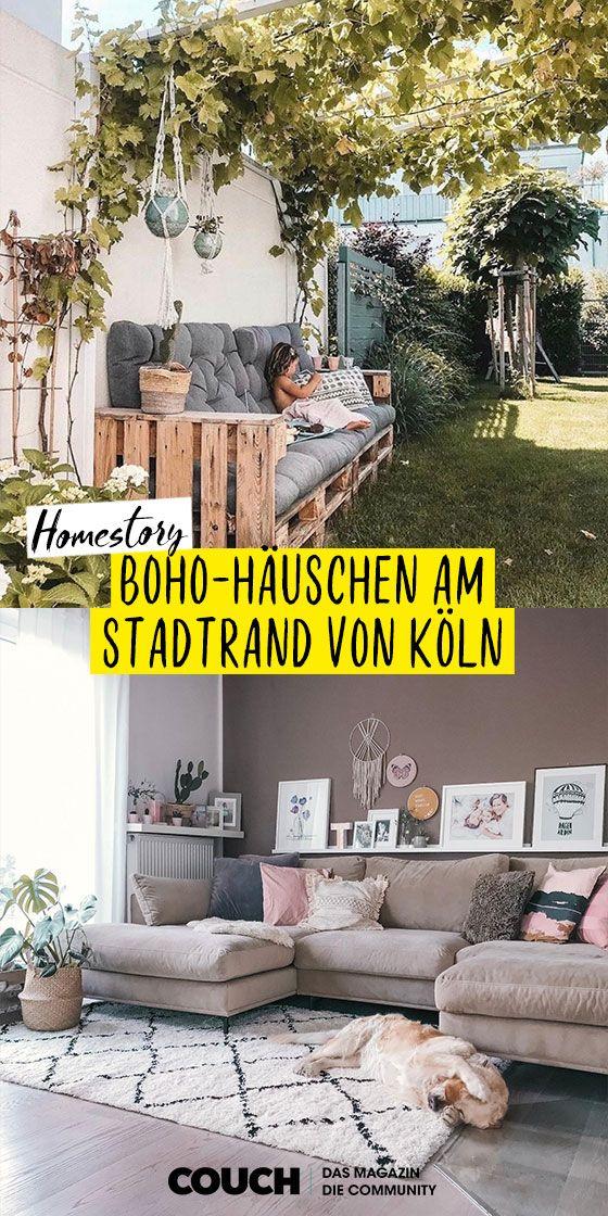 Bohohauschen Am Stadtrand Von Koln Terrasse Gestalten Garten Balkon Gestalten
