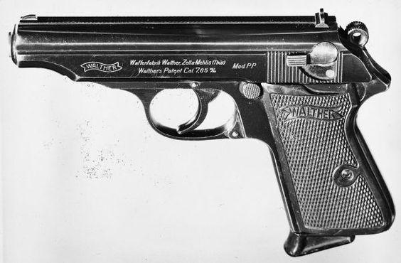 Walther pistols website