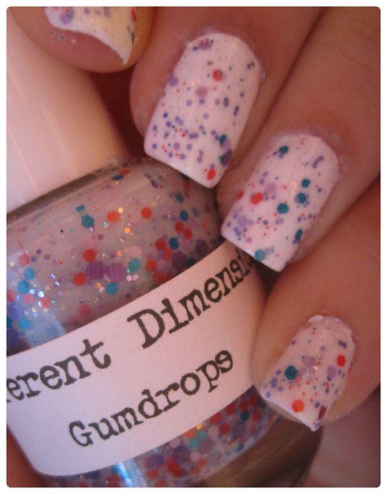 """""""Gumdrops"""" cute nail polish!"""