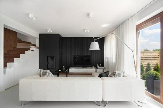 einrichtungsideen wohnzimmer gestalten coole akzentwand