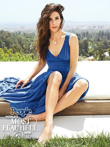 Sandra Bullock en la revista de People