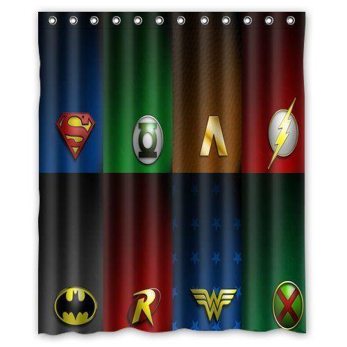 Amazon Com Libin Scottshop Custom Justice League Logo Waterproof