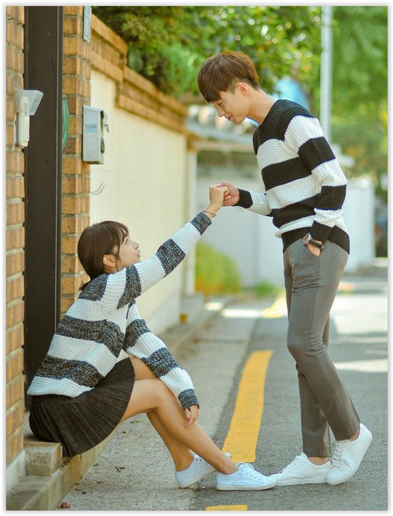 Color-Block Waffle-Knit Top #coupleoutfit #matchingoutfit #love: