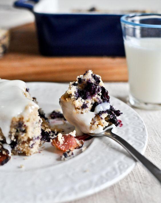 blueberry bacon breakfast cake