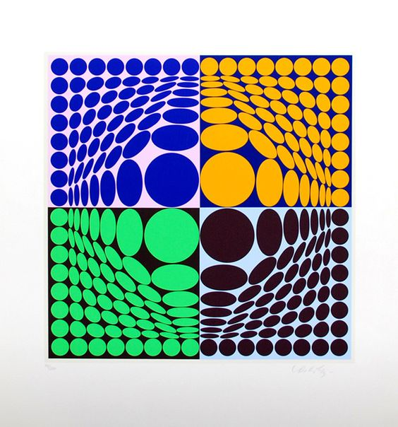 Victor Vasarely  inspiration  Pinterest  Victor vasarely
