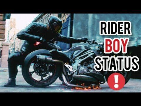Rider Boy Status Best Hollywood Whatsapp Status Bike Rider