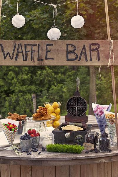 so did the WAFFLE BAR last winter... so doing it AGAIN!