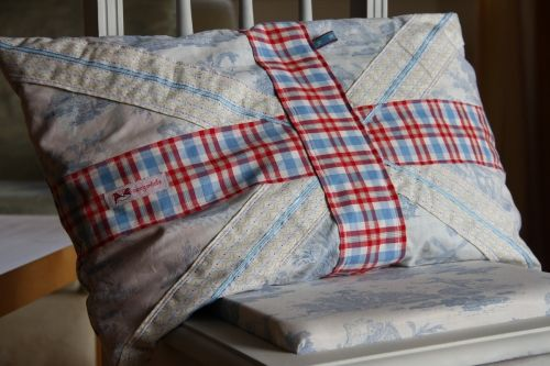 Brit-Style Pillow