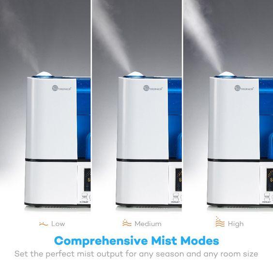 TaoTronics Ultrasonic Cool Mist Home Humidifier (with