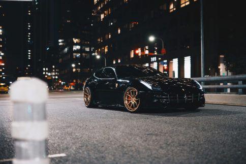 Black Ferrari Ff Adv5 0 Track Spec Cs Series Adv 1 Wheels Hintergrundbilder Desktop Ferrari