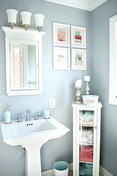 Bathroom Sink Decorating Ideas Powder Room Ideas With Pedestal