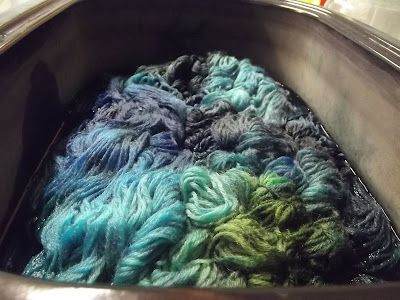 Nonnie's Blog: How to kettle dye wool (yarn) - in Utah with my sister Wendy