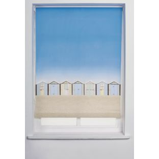 Buy Beach Hut Roller Blind 3ft - Multicoloured at Argos.co.uk - Your Online Shop for Blinds.