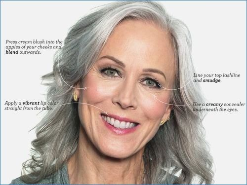 Gray Hair And Green Eyes 39 Best Makeup