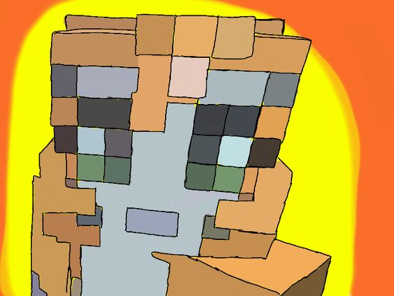 minecraft stampylongnose coloring pages - photo#29